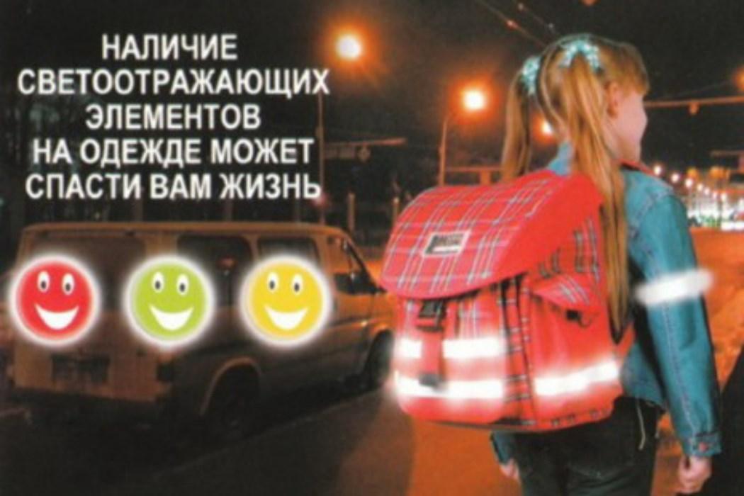 Федеральный закон о светоотражателях бросил